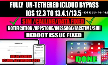 Bypass iCloud iOS 13.5.5