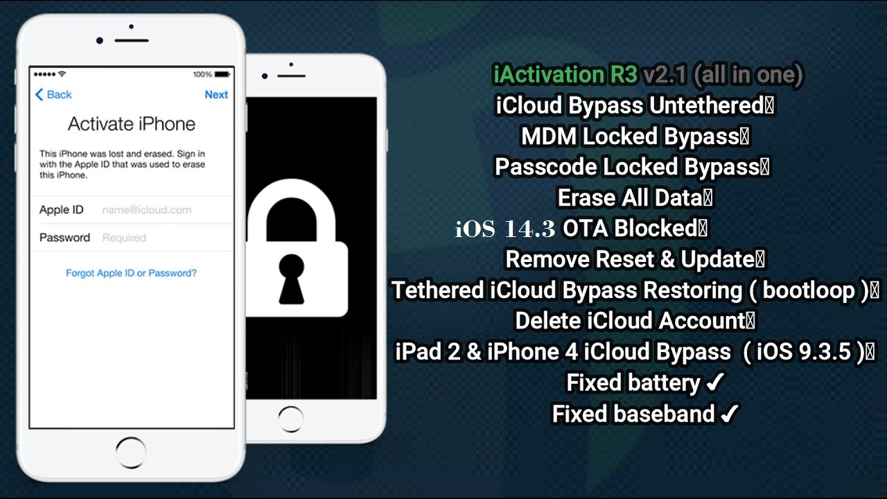 Bypass iCloud iOS 14.3