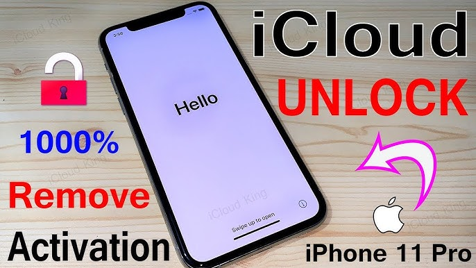 iPhone 11 Pro Max iCloud bypass permanent